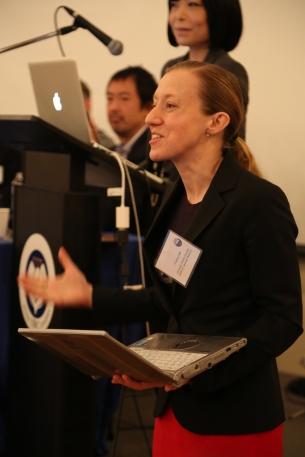 CJR Co-director Dr. Christina Laffin