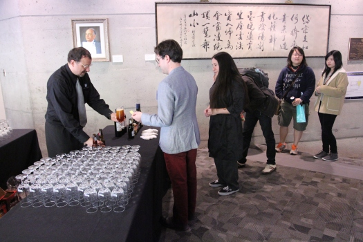 Drinks and more at the networking reception!